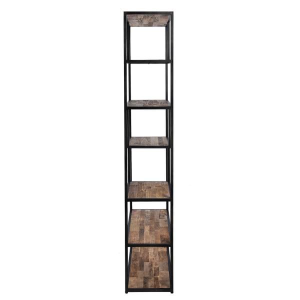 Elmwood bokhylle (90x35x200)